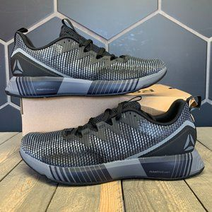 Reebok Fusion Flex Weave Black Grey Running Size 9